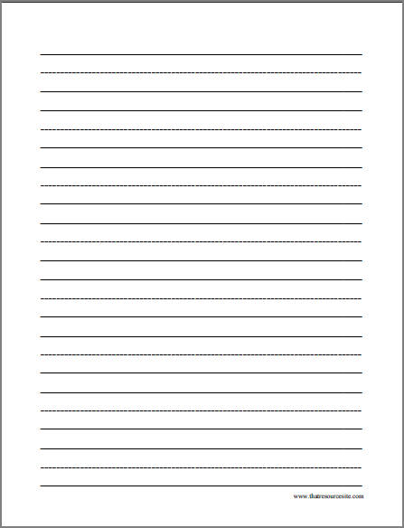Free Printable Letter Writing Paper from printablepapertemplates.com